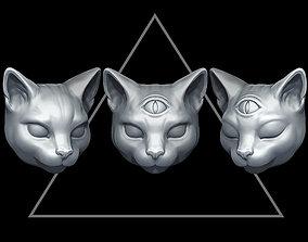3D print model Mystic cat fox