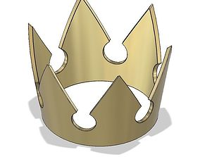 Sora Kingdom Hearts Crown 3D printable model