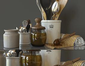 3D model Decorative set tableware