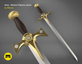 Xena - Warrior Princess Sword 3D print model