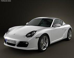 3D Porsche Cayman S 2011