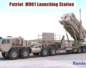 3D Patriot M901 Launching Station