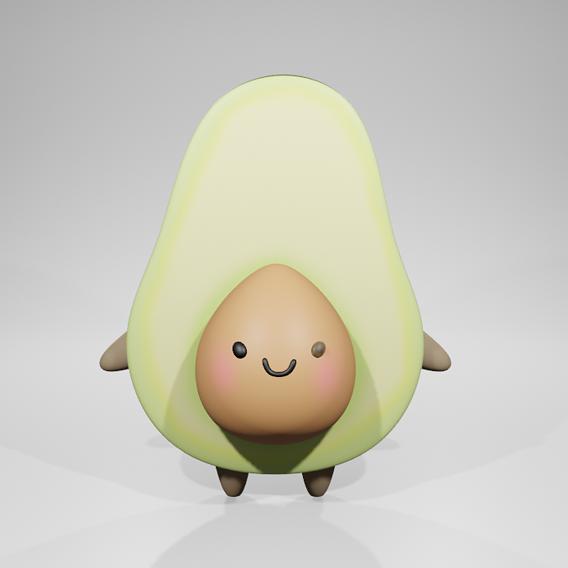 Cute Avocado