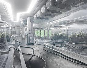 3D model Sci-Fi Facility
