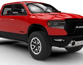 Dodge Ram 1500 Rebel 2019 3D