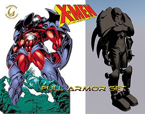Cosplay Armor - Onslaught - X-men Villain 3D print model 1