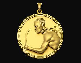 Mackandal Coin Pendant pendants 3D printable model
