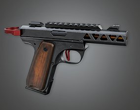 3D model Devastator 01a - Handgun