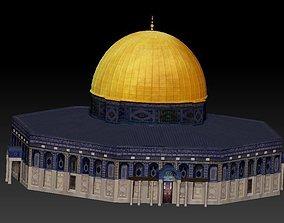 for 3D print Dome of the Rock Jerusalem Aqsa wrl stl