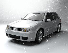 3D asset Volkswagen Golf 4 R32