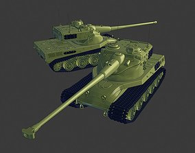 AMX 50B Tanks 3D print model