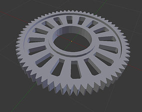 3D print model gearwheal