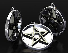printer 3D print model Star necklace