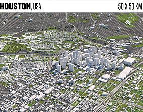 Houston 3D model