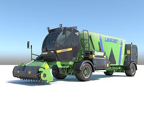 3D model Farming Vehicle Faresin Leader 2200