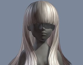 3D model beauty hair 19