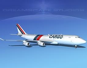 3D Boeing 747-8 Freighter 1