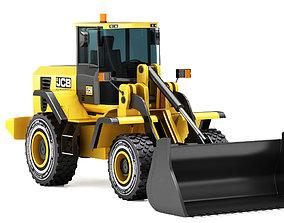 3D JCB 426ZX excavator 2019
