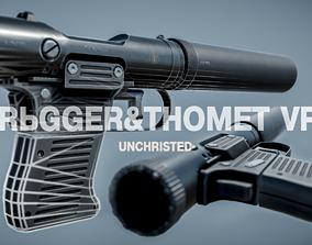 VP9 Silenced pistol 3D asset
