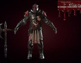 3D model Heavy knight