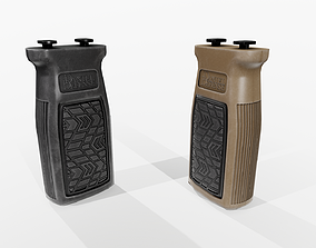 Daniel Defense M-LOK Vertical Foregrip 3D model