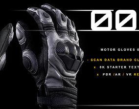 Motor Gloves 002 3D model