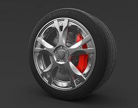 Lamborghini Gallardo wheel 3D