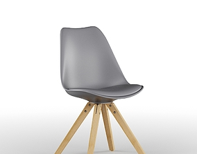 Grey Eames Chair 3D model