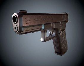 Pistol Glock 17 gen 5 3D model game-ready
