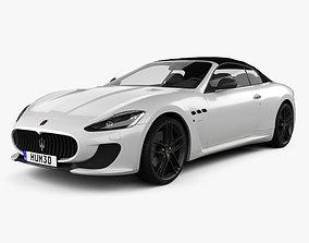 3D model Maserati GranCabrio MC 2013