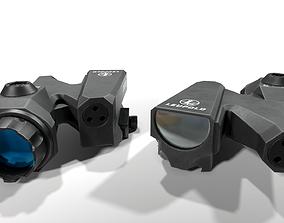 Leupold D-EVO Dual Enhanced View Optic 6x Scope 3D model
