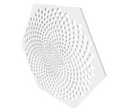 3D model Fibonacci Coaster or Wall Decoration