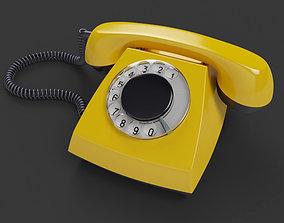 VR / AR ready Retro Telephone TAH 70-5 3D model