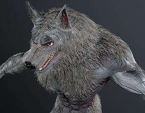 Werewolf 3 skins Unity and UE4 3D model