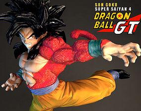 Super Saiyan 4 Goku 3D