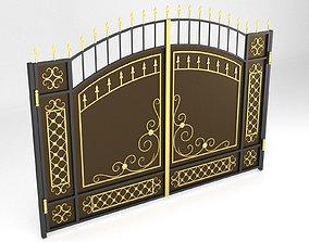 Gate 01 3D model