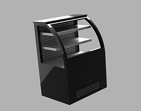 cake cabinet pedestal 3D printable model kitchen