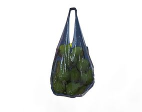 3D shopping Plastic bag