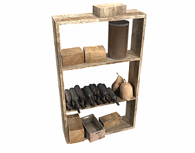 unity Shelves collection 3D