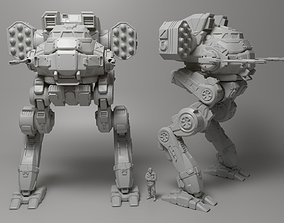 3D print model Mecha Locust