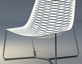 3D model realtime York Lounge Chair