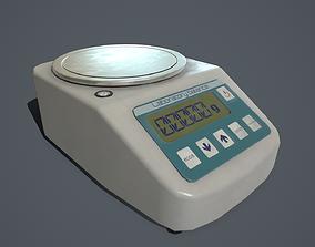 3D asset Laboratory balance PBR