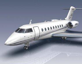Gulfstream G250 3D asset