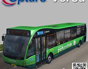 Optare Versa Park and Ride 3D asset