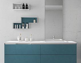 Bathroom furniture set Arcom eGo 2 3D