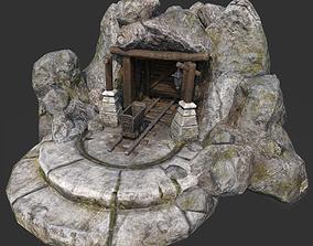 3D model Mine GameDev
