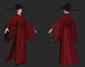Ancient Chinese officials Prime Minister of Song 3D model