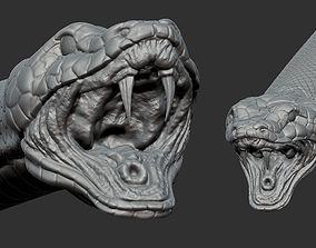 3D asset realtime snake