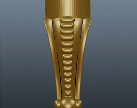 leg for cnc 3D printable model mill