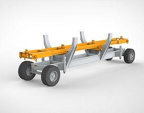 3D model cart 1 hardware